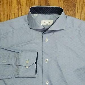 Eton Slim Fit Shirt Men's 15 38